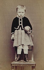 Kvieton & Stolc, Prague: A child, c. 1870